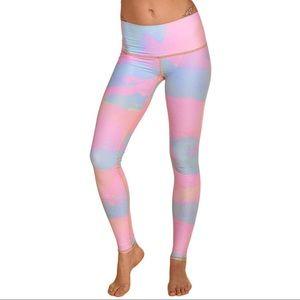 Teeki Moon Rainbow Yoga Hot Pants
